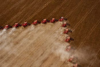 Plantação e colheita de Soja (José Medeiros/SUDECO)