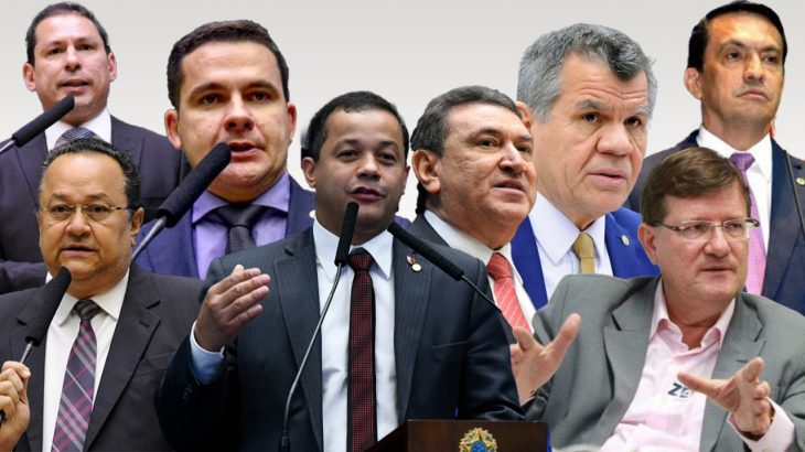 Bancada de deputados federais do Amazonas (Catarine Hak/Cenarium)