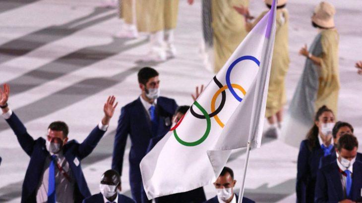 Abertura dos Jogos Olímpicos 2021 (Reprodução/Jogos Olímpicos)