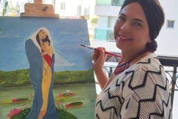 Roseanne Torres Stone viu na pandemia a oportunidade para produzir arte (Divulgação)