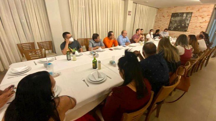 No encontro, participaram 19 secretários municipais do interior do Estado (Divulgação)