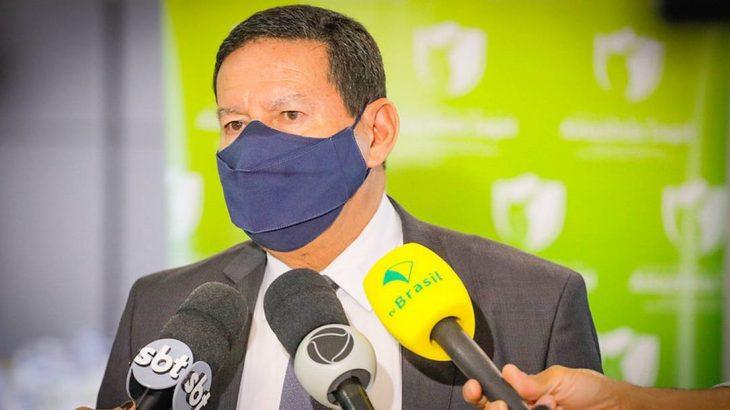 O antecessor dele, Ricardo Salles, irritou Mourão ao não comparecer à última reunião do conselho (Romério Cunha/Vice-Presidência)