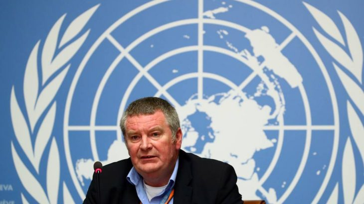 Mike Ryan, chefe do Programa de Emergências da OMS (Denis Balibouse/Reuters)