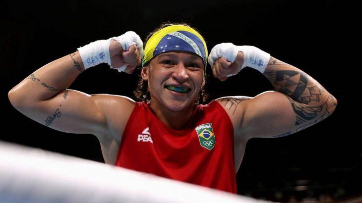 Beatriz Ferreira vai para quartas de final (Buda Mendes/Reuters)