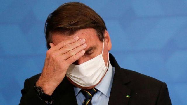 Presidente da República, Jair Bolsonaro (Reprodução/BBC)