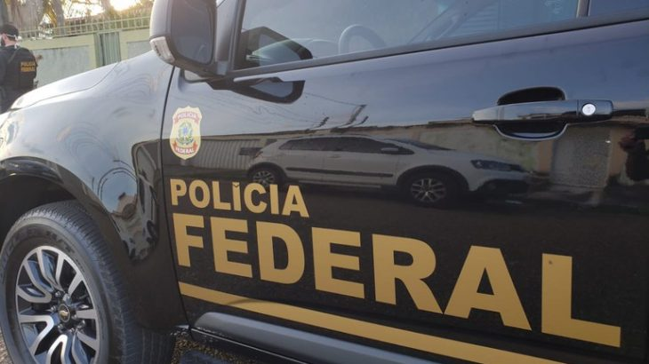 Viatura da Polícia Federal (Divulgação/PF)