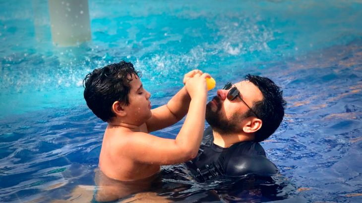 Neste Dia dos Pais, Luiz Neto contou sobre a paternidade de uma criança com autismo (Arquivo Pessoal)