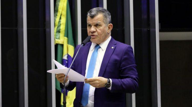 Deputado federal pelo Amazonas, Bosco Saraiva foi responsável por apresentar o projeto no plenário. (Foto: Najara Araujo/Câmara dos Deputados)