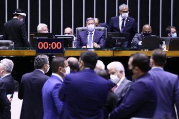 Presidente da Câmara, Arthur Lira, comanda a sessão do Plenário (Foto: Cleia Viana/Câmara dos Deputados)