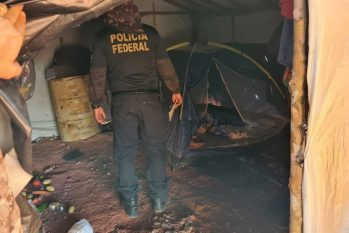 PF resgata 20 trabalhadores em condição análoga à escravidão em garimpos ilegais no interior do Pará