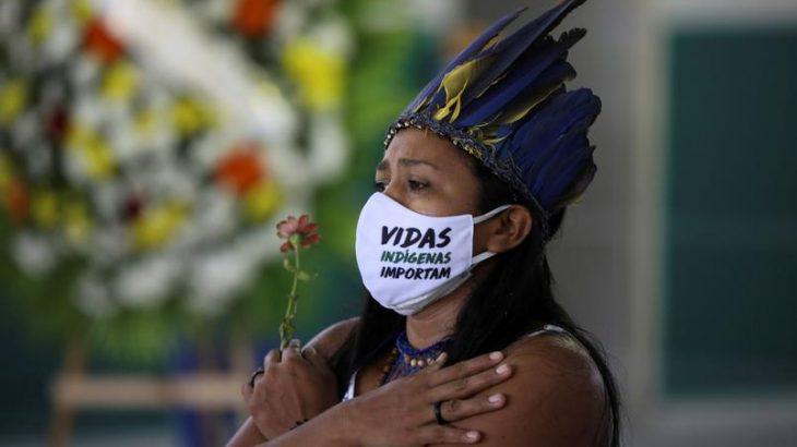 Foram 57 vítimas a cada 100 mil integrantes de povos originários. (Bruno Kelly/Reuters)