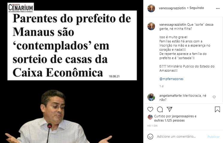Jornal Nacional exibe em rede nacional novo escândalo da prefeitura de Manaus no sorteio do Residencial Manauara; VEJA O VÍDEO