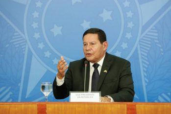 O vice-presidente, Hamilton Mourão  (Alan Santos/Divulgação)