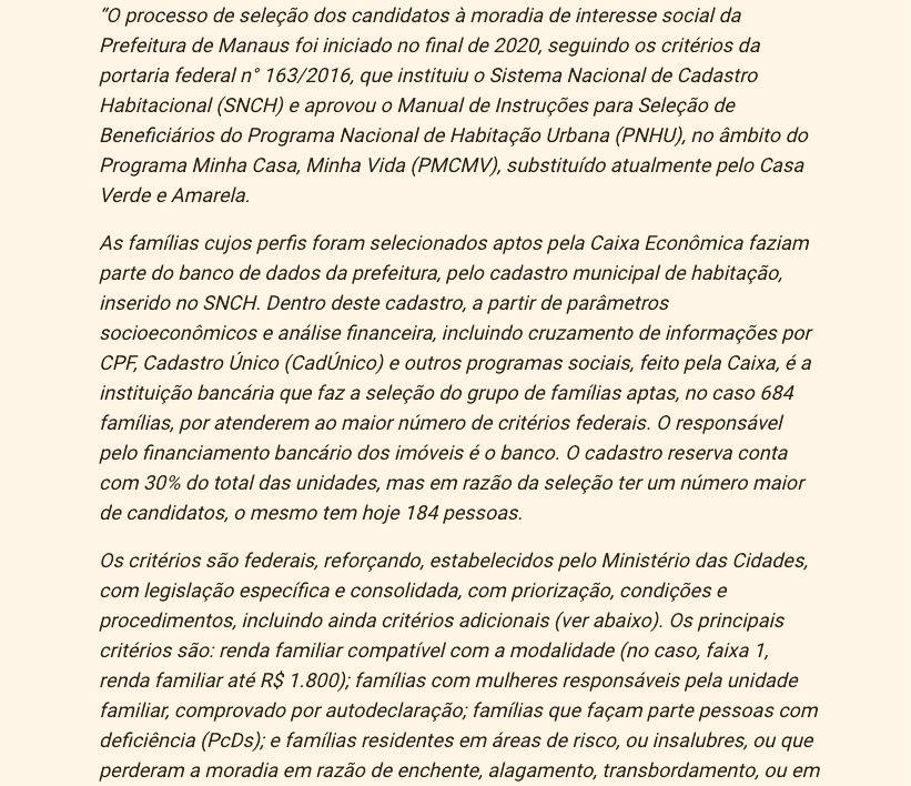 Irmãos de assessora do prefeito de Manaus receberam apartamentos no Manauara 2