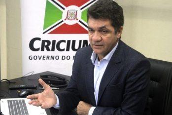 O prefeito de Criciúma (SC), Clésio Salvaro (PSDB) (Divulgação)