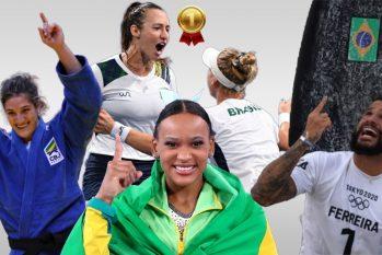 Medalhistas olímpicos do Brasil em Tóquio (Catarine Hak/Revista Cenarium)