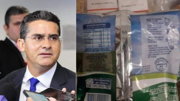 Mayor David Almeida, of Manaus, is denounced for distributing food baskets with expired products (Reproduction)