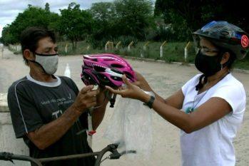 Campanha busca beneficiar ciclistas de baixa renda (Divulgação/Movimento @cicloolhar)