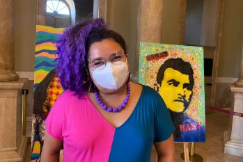 For Michelle Andrews, the +Cultura program will help distribute resources among artists (Bruno Pacheco/Cenarium)