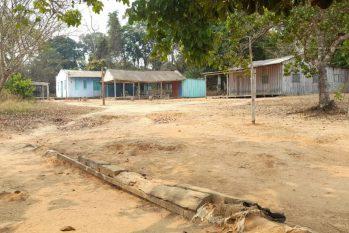 A comunidade Terra Firme, em Rondônia, onde moradores afirmam que estão sem água potável há mais de 12 anos (Arquivo Pessoal/Reprodução)