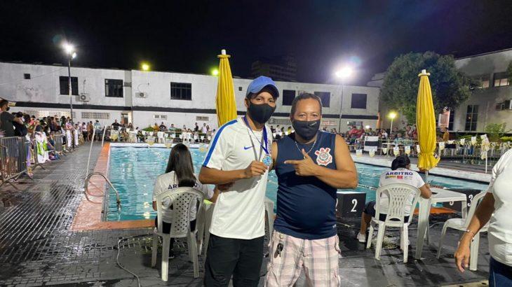 Nadador João Pedro de Lima Afonso (Divulgação/Assessoria)