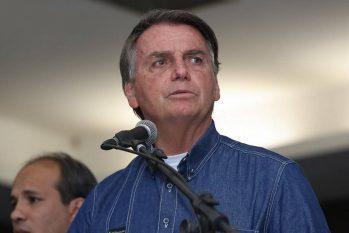 O presidente Jair Bolsonaro (Isac Nóbrega/Presidência)