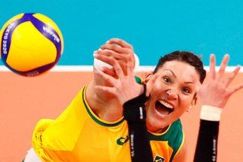 A brasileira Tandara foi suspensa das Olimpíadas de Tóquio por doping (CARLOS GARCIA RAWLINS/REUTERS)