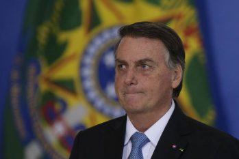 O presidente Jair Bolsonaro participa de evento no Palácio do Planalto (Cristiano Mariz/Agência O Globo)