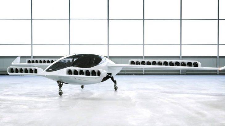 A aeronave da Lilium tem  autonomia de 250 km e velocidade máxima de 300 km/h (Reprodução/HANDOUT / REUTERS)