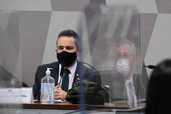Ex-secretário-executivo do Ministério da Saúde, coronel Antônio Elcio Franco Filho depõe à CPI da Covid: ex nº 2 será reconvocado (Edilson Rodrigues/Agência Senado)
