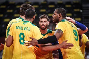Brasil perde para o Comitê Olímpico Russo e está fora da final olímpica (Gaspar Nóbrega/COB/Gaspar Nóbrega/COB)