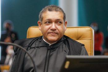 Cássio Nunes durante sessão do Supremo Tribunal Federal (Divulgação/STF)