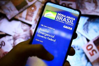 Aplicativo auxílio emergencial do governo federal. (Marcelo Camargo/ EBC)