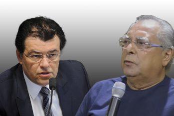 Eduardo Braga e Amazonino Mendes já foram investigados por possíveis envolvimentos em crimes. (Divulgação)