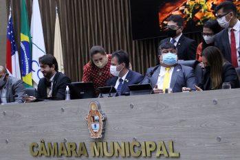 Vereador David Reis aguarda decisão da Justiça para se manifestar sobre o assunto (Robervaldo Rocha – Dircom/CMM)