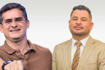 David Almeida and Valcerlan Ferreira: partnership in life and in public administration (Reproduction/Semcom)