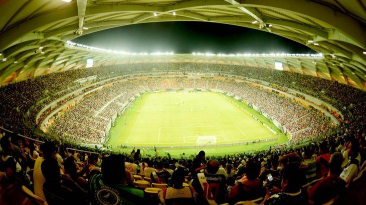 A Arena da Amazônia, em Manaus (Divulgação/FVO-AM)