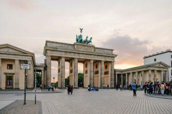 Portão de Brandenburgo, um dos principais pontos turísticos da Alemanha. (Shvets Anna/Pexels)