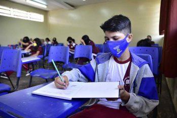 Todas as séries e modalidades de ensino retornam à normalidade. Foto: Seduc/ Divulgação