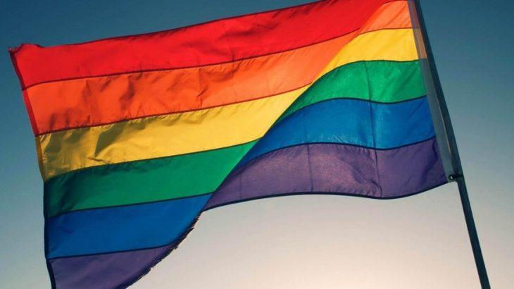 Bandeira LGBT, símbolo que é usado para representar a comunidade (Divulgação/Internet)