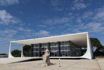A sessão do STF foi suspensa para o intervalo (Fabio Rodrigues Pozzebom/Agência Brasil)