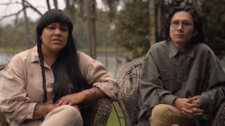 Dayana Molina e Sioduhi  participam da campanha do National Geographic (Reprodução/National Geographic)