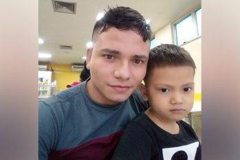 Andril Souza foi diagnosticado com leucemia desde setembro do ano passado (Reprodução/ Arquivo pessoal)