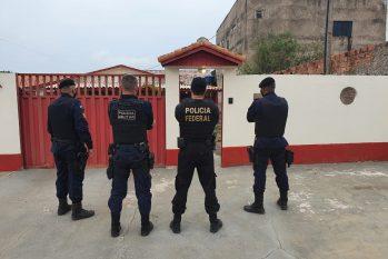 Operação contou com 45 mandados de prisão (Divulgação/PF)
