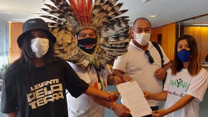 O documento foi protocolado no STF, no dia 16 de setembro, por lideranças indígenas (Divulgação/ Apib)