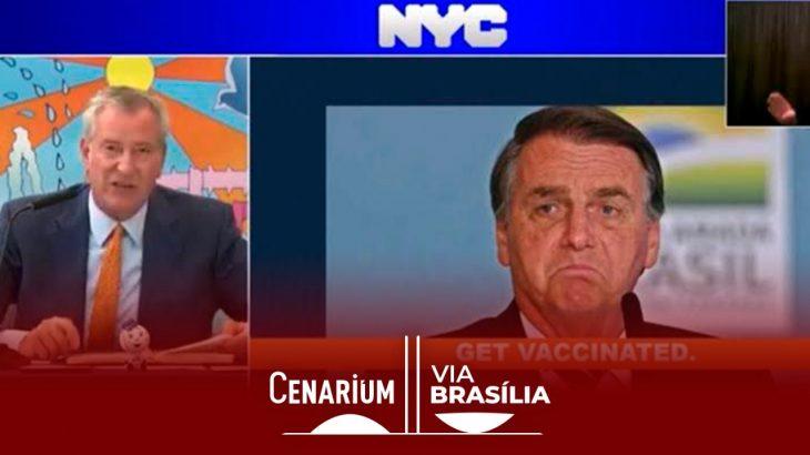 Prefeito de Nova York: 'Se você não quer se vacinar, nem precisa vir'. (Reprodução)