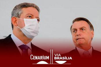 O presidente da Câmara, Arthur Lira (PP-AL), correu para assumir o protagonismo no polêmico tema (Sérgio Lima/Poder 360)