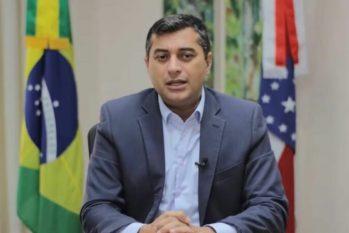Wilson Lima apresentou os desafios de combater o desmatamento no Amazonas. (Divulgação/ Sema)