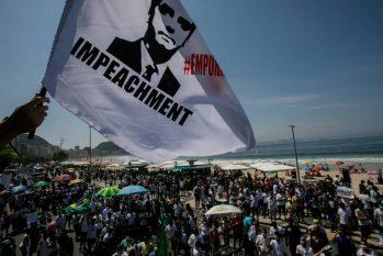 Manifestação contra Bolsonaro no Rio de Janeiro (Brenno Carvalho / Agência O Globo)