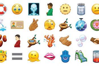 Série de novos emojis foi aprovada pelo Unicode Consortium (Reprodução/ Divulgação)